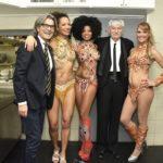 Capodanno Capannina Alessi, Guidi e le ballerine brasiliane