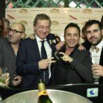 Capodanno Capannina Sandro Sabatini, Stefano Busà e Peppe di Stefano